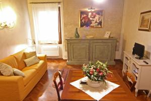 Zona de estar de Verrazzano Apartment