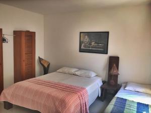 Cama ou camas em um quarto em Village Mata Encantada