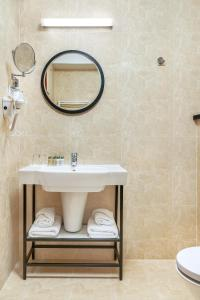 Kúpeľňa v ubytovaní Metropolo by Golden Tulip Krakow