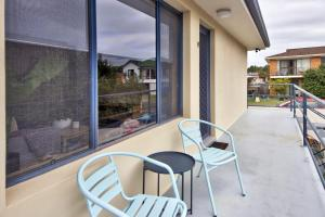 A balcony or terrace at Anchored at South West Rocks