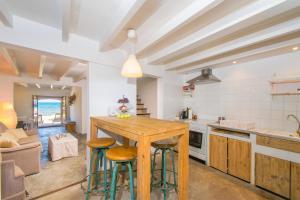 Küche/Küchenzeile in der Unterkunft Villa FISHERHOUSE