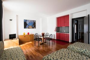 Area soggiorno di Residence Villa Odescalchi