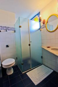 A bathroom at Hotel Solar das Águas Cantantes