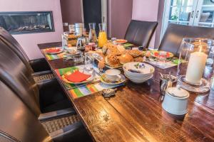 Een restaurant of ander eetgelegenheid bij De Kamphoeve