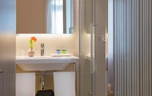 Ett badrum på Park Hotel