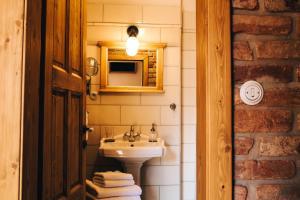 Koupelna v ubytování Starý Svět