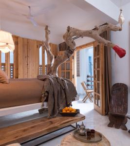 The fitness center and/or fitness facilities at Munga Guesthouse