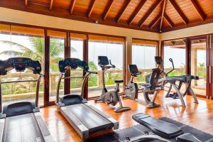 The fitness center and/or fitness facilities at Jetwing Sea