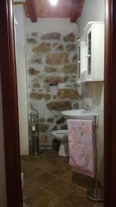 A bathroom at SA DOMEDDA