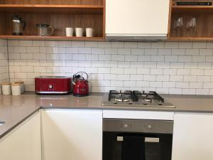 A kitchen or kitchenette at Hyggested Our Cosy Place