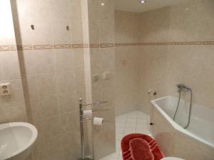 Koupelna v ubytování Penzion SURF