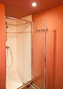 Een badkamer bij Freyssanges