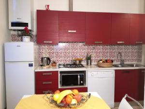 Una cocina o zona de cocina en Dimora Pieri
