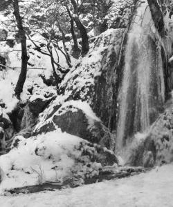 Archontiko tou Ziaka през зимата
