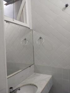 A bathroom at Flor do Cacau