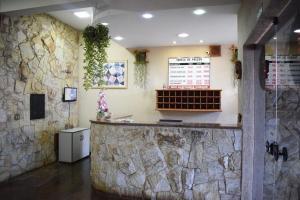 The lobby or reception area at Diplomata Hotel