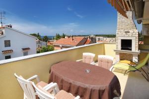 A balcony or terrace at Apartments Jasmina