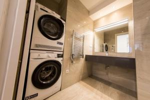 """Ein Badezimmer in der Unterkunft Residence """"Gregorius"""""""