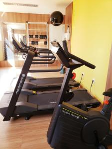 The fitness center and/or fitness facilities at Alfa Hotel