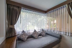Coin salon dans l'établissement Aonang Princeville Villa Resort & Spa