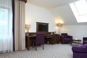 Telewizja i/lub zestaw kina domowego w obiekcie Hotel Mercure Krynica Zdrój Resort&Spa
