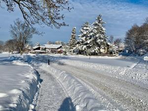 Landhaus de Gaspary im Winter