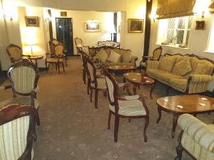 A restaurant or other place to eat at Albright Hussey Manor Hotel