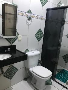 A bathroom at Apartamento Rocha