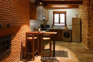Una cocina o zona de cocina en Señorío de los Fonseca