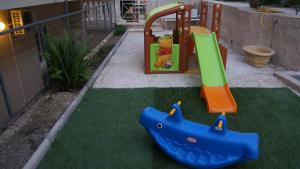 Children's play area at Corali Beach