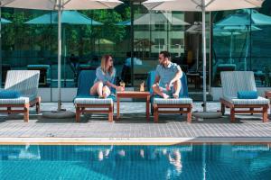 The swimming pool at or near Stella Di Mare Dubai Marina Hotel