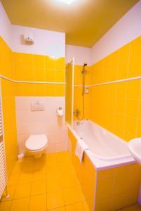 Ванная комната в Hotel Smaragd