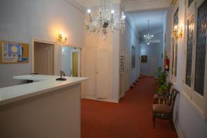 Lobby alebo recepcia v ubytovaní Hostal Lamalonga