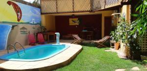 A piscina localizada em Pousada Mar dos Arrecifes ou nos arredores