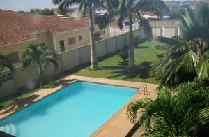 A view of the pool at Pekan Hotel or nearby