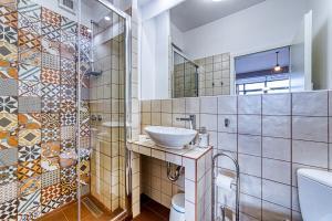 Um banheiro em Panorama studio