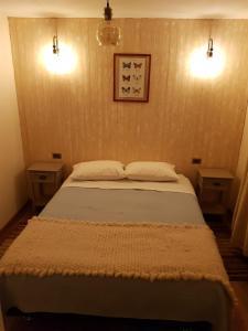 Cama o camas de una habitación en Abriga Bed and Breakfast