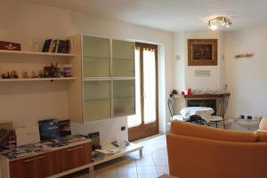 Area soggiorno di Villetta Nembra