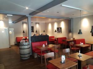 Ein Restaurant oder anderes Speiselokal in der Unterkunft Nordsee-Hotel Dagebüll