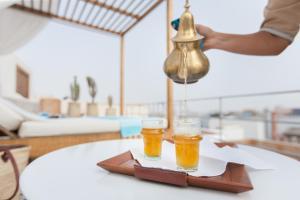 Drinks at Riad Emotion