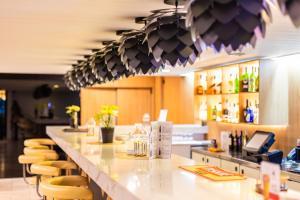 Restauracja lub miejsce do jedzenia w obiekcie Hotel Solny