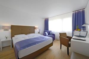 Ein Bett oder Betten in einem Zimmer der Unterkunft Hotel Al Ponte