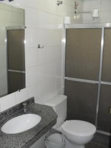 Ванная комната в Hotel Lund