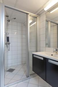 A bathroom at Thon Hotel Backlund