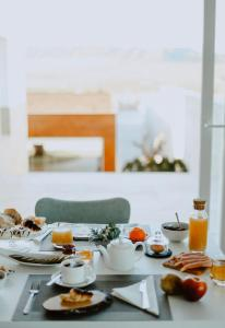 Breakfast options available to guests at Casa Boquera