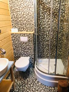 Łazienka w obiekcie Rybaczówka Karczma Rybna