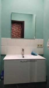 Ванная комната в Hostel Sova