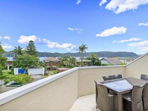 A balcony or terrace at The Lookout at Iluka Resort Apartments