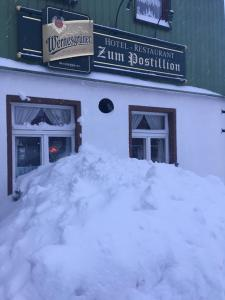 Hotel & Restaurant Zum Postillion im Winter