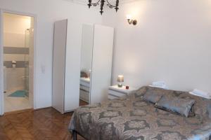 Krevet ili kreveti u jedinici u okviru objekta RMB Savamala Apartments
